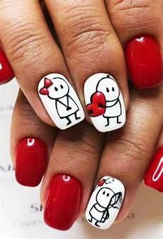 70 cute valentine nail art designs for 2019 fashion enzyme