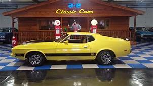 1973 Ford Mustang Mach 1 A&ampE Classic Cars  YouTube