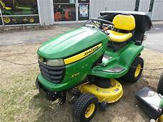 2007 deere x300 lawn garden and commercial mowing