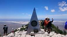 Guadalupe Mountains National Park Guadalupe Peak Trail