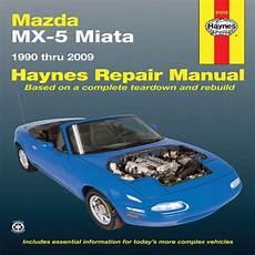 chilton car manuals free download 1990 mazda mx 6 engine control haynes mazda mx 5 miata automotive repair manual 1990 through 2009 haynes repair manual