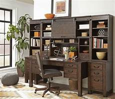 home office furniture set pine hill rustic pine secretary home office set from