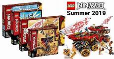 lego ninjago summer 2019 wave revealed with 12 sets news
