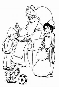 Kostenlose Malvorlagen Nikolaus Sankt Nikolaus Malvorlagen Malvor