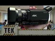 Sony Ax100 4k Cine Familiar A 4k Review