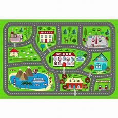 tapis vinyle enfant circuit voiture design from