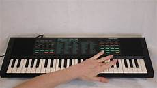 yamaha pss 270 portasound voice bank keyboard