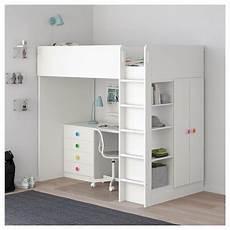stuva f 214 lja loft bed with 4 drawers 2 doors white ikea