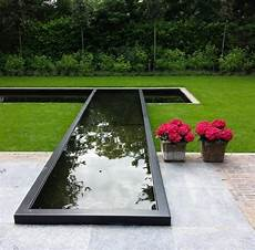 Large Modern Garden Water Feature In Aluminium