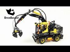 lego technic 42053 volvo ew160e speed build for