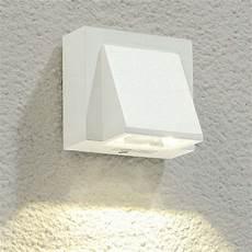 marik white led outdoor wall light lights co uk