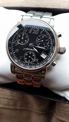 montblanc meisterstuck r 233 f 7038 chronographe montre