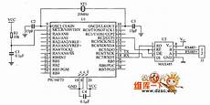 Pic16f73 And Max485 Interface Circuit Diagram Industrial