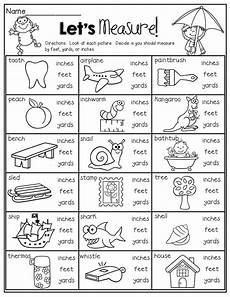 measurement subtraction worksheets 1596 let s measure inches or yards