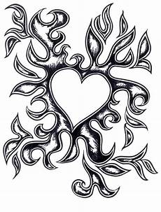 drawings of hearts on cliparts co