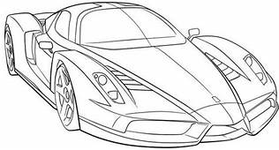 Sports Cars Adult Coloring Sport Car