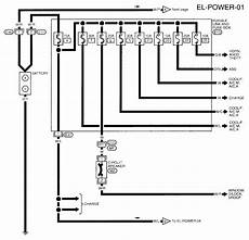 i need a wiring diagram for a 1997 nissan altima gxe ignition switch circuit and junction fuse