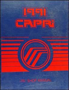 free car repair manuals 1991 mercury capri free book repair manuals 1991 mercury capri and xr2 repair shop manual original