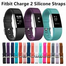 fitbit charge 2 band secure hr wristband metal buckle replacement ebay