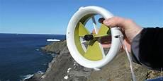 Outdoor Mini Turbine Erzeugt Unterwegs Energie