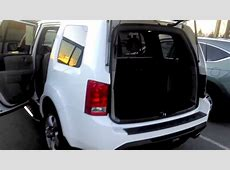 Honda Pilot 2nd & 3rd row seating   YouTube