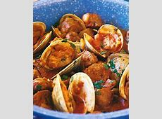 clams with chorizos_image