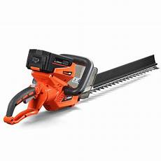 cordless electric hedge trimmer 40 volt lithium ion