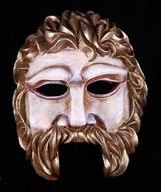 greek masks odysseus mask created for greek theater by theater masks com