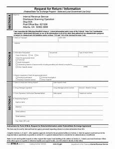 form 8796 a request for return information federal state
