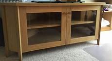 Ikea Oak Skoghall Corner Tv Unit In East Kilbride