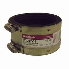 proflex 3 in 3 in epdm rubber shielded coupling p3007 33 the home depot