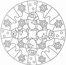 Mandala Malvorlagen Winter Pin Auf Inspirierend