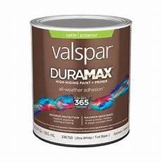 shop valspar duramax duramax exterior satin tintable white