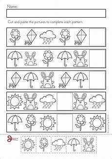 patterns crafts and worksheets for preschool toddler and kindergarten kindergarten