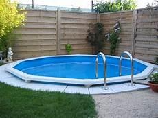 pool in erde einbauen cranpool riva rund eingebaut cranpool