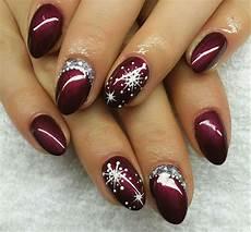 Weihnachts Nägel Motive - nail design fullcover winter weihnachten tipps