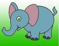 Langkah Menggambar Gajah Menggambar Asik