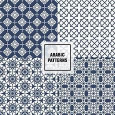Arabische Muster Malvorlagen Xing Blaue Arabische Muster Kostenlose Vektor