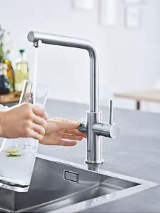 Grohe Wasserhahn Sprudel - sodaarmatur sprudelwasser aus dem wasserhahn