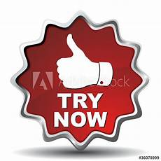 quot try now icon quot stock image and royalty free vector files fotolia com 36078999