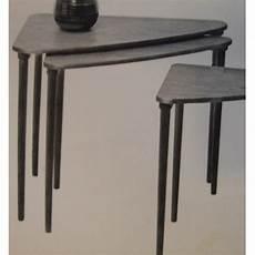 tables gigognes d angle design vintage cote argus