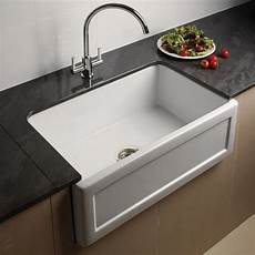 kitchen faucets uk astini belfast 760 1 0 bowl recessed white ceramic kitchen sink waste astini from taps uk