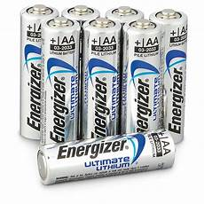 8 pk of energizer 174 aa ultimate lithium batteries 618707
