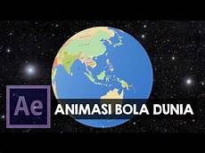 After Effect Indonesia Membuat Bola Dunia Globe