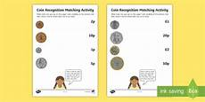 money matching worksheets ks1 2588 coin recognition matching worksheets eyfs early years ks1 key stage 1