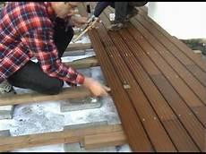 Montage Holzterrasse 2002