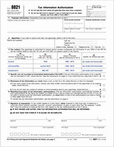 anybody may download irs form 8821 download