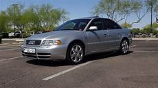 2000 audi b5 s4 in silver paint v6 biturbo engine sound my car story with lou costabile