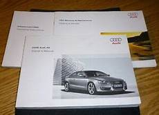 how to download repair manuals 2008 audi a5 free book repair manuals 2008 audi a5 owners manual set 08 w case infotainment mmi navigation guide ebay