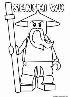 lego ninjago lord garmadon ausmalbilder